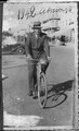 Fancesco Bellio in bicicletta, Asmara 1942